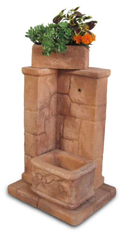 Fonte antica fontane da giardino r c di rinaldi geom - Fontane a parete da giardino ...