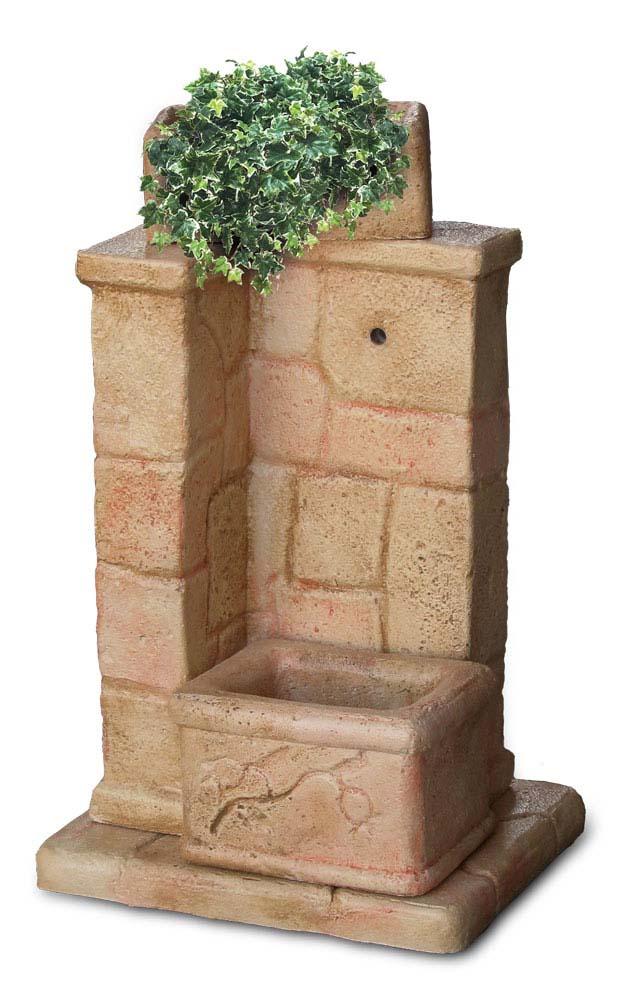 Fonte antica r c di rinaldi geom franco - Accessori per fontane da giardino ...