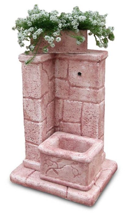 fontana fonte antica col. rosa antico, cod. 03FOARA