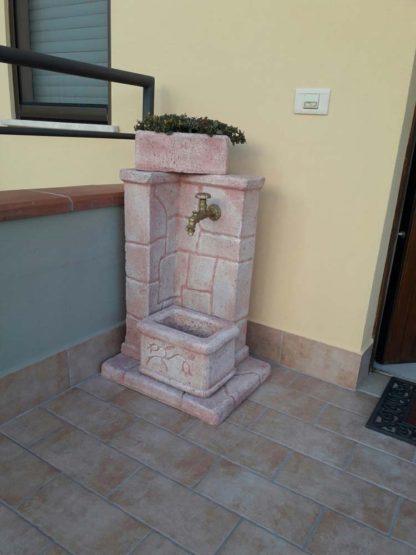 fontana fonte antica col. rosa antico, cod. 03FOARA, località: Scarperia (Firenze)