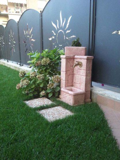 fontana fonte antica col. rosa antico, cod. 03FOARA, località: Sovere (Bergamo)