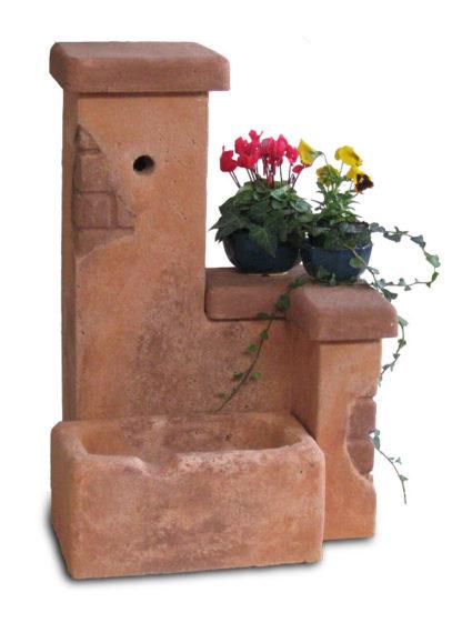 fontana fonte del casale easy col. mattone, cod. 03FDCEM