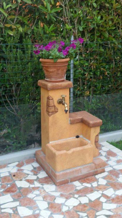 fontana fonte del casale easy col. mattone, cod. 03FDCEM, località: Conselve (PD)