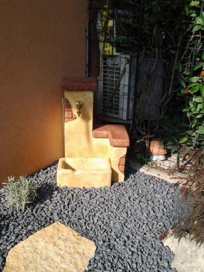 fontana fonte del casale easy col. pietre del borgo, cod. 03FDCEP, località: Preganziol (Treviso)