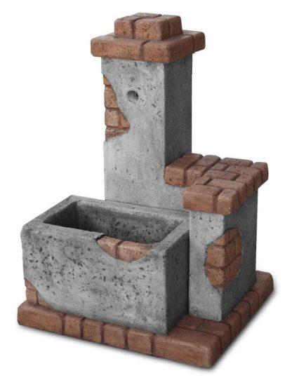 fontana fonte del casale col. antichizzato, cod. 03FDCAT
