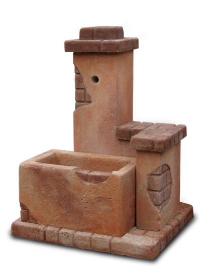 fontana fonte del casale col. mattone, cod. 03FDCM