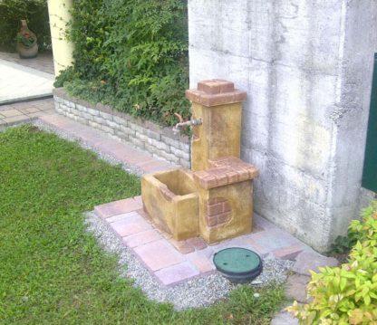 fontana fonte del casale col. old stone, cod. 03FDCOS, località: Besnate (Varese)