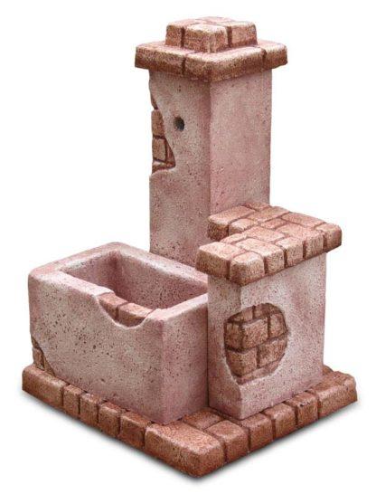 fontana fonte del casale col. rosa antico, cod. 03FDCRA