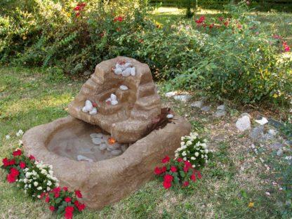 gioco d'acqua Adige col. old stone, cod. 13GADOS, esempio di ambientazione