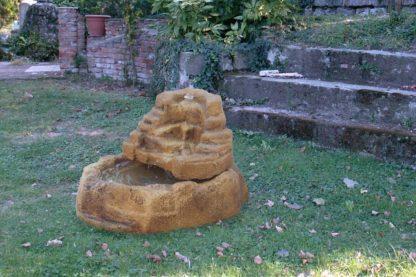 gioco d'acqua Mincio col. old stone, cod. 13GMIOS, esempio di ambientazione
