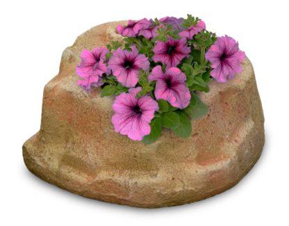 base piccola in finta roccia per lampada da giardino col. pietre del borgo, cod. 11PLPP