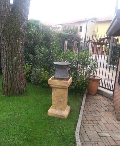 supporto per pergola e per statue col. old stone, cod. 00SPOS, provincia di Varese