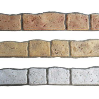 battiscopa 13, colorazioni miste, esempi di posa
