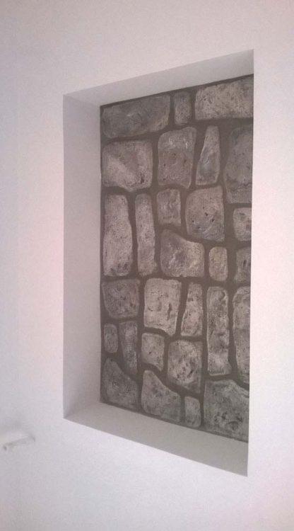 pietre murali Toscana col. antichizzato, cod. 12PMTOAT, località: Roma