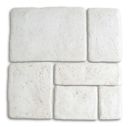 pietre murali Umbria col. bianco, cod. 12PMUMGB
