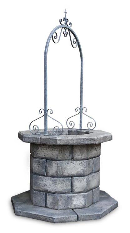 pozzo da giardino 60 col. antichizzato, cod. 06PB60AT