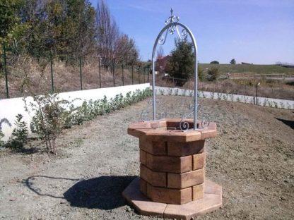 pozzo da giardino 60 col. old stone, cod. 06PB60OS, località: Oratino (Campobasso)
