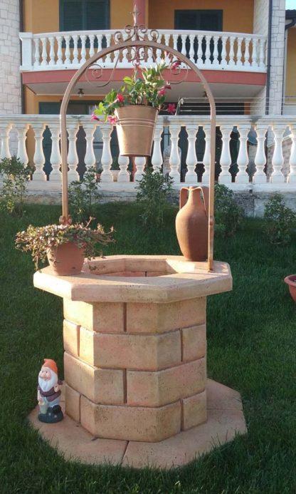 pozzo da giardino 60 col. pietre del borgo, cod. 06PB60P, località: Cassano delle Murge (Bari)