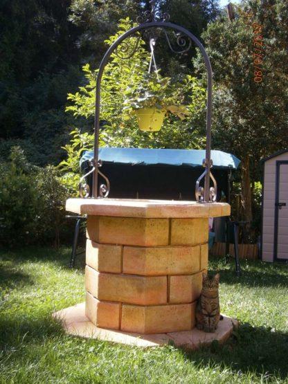 pozzo da giardino 60 col. pietre del borgo, cod. 06PB60P, località: Torriglia (Genova)