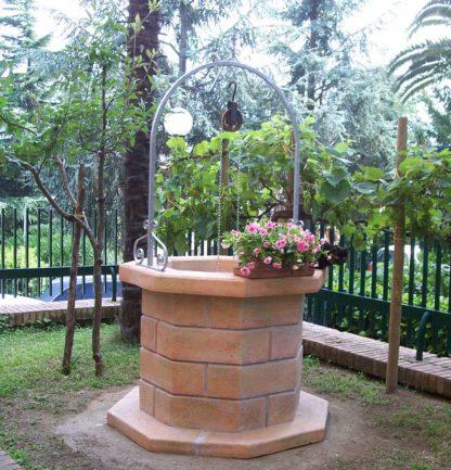 pozzo da giardino 80 col. pietre del borgo, cod. 06PB80P, località: Avellino