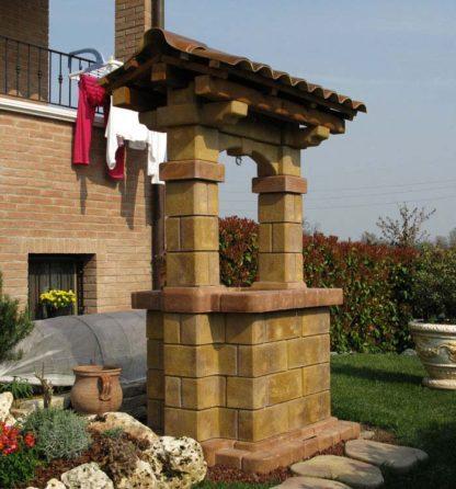 pozzo da giardino country col. old stone, cod. 06PCOS, località: Scandiano (Reggio Emilia)