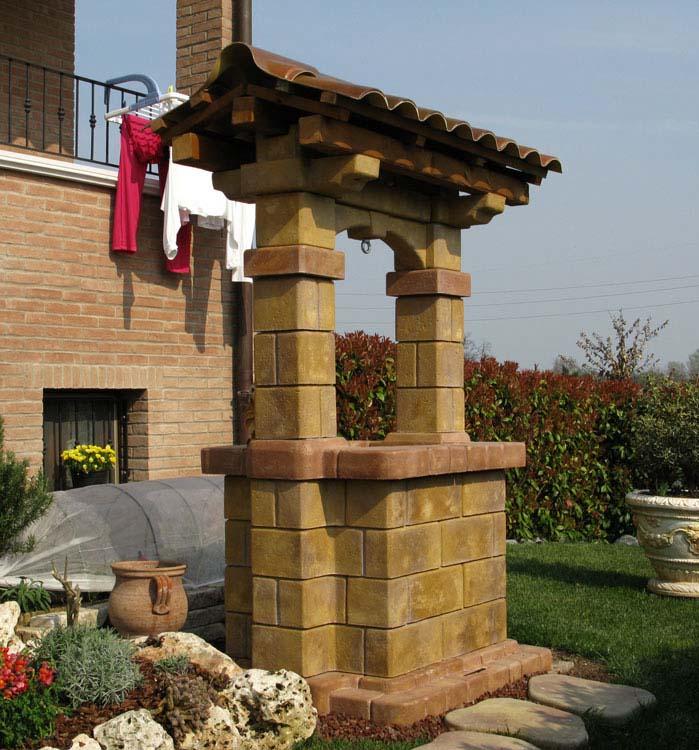 Pozzo country r c di rinaldi geom franco for Pozzo da giardino decorativo