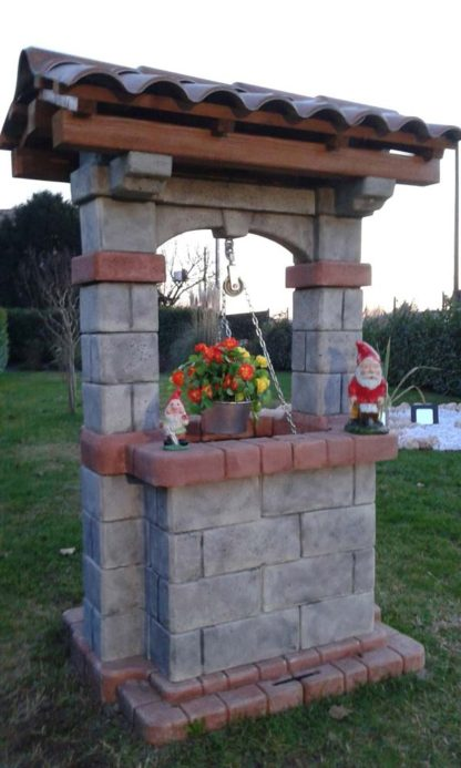 pozzo da giardino country col. antichizzato, cod. 06PCAT, località: Verona