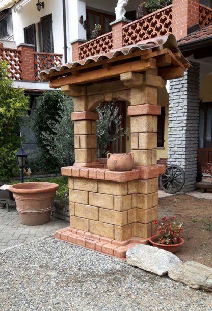 pozzo da giardino country col. old stone, cod. 06PCOS, località: Alice Castello (Vercelli)