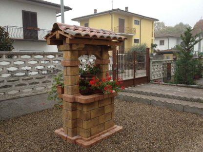 pozzo da giardino country col. old stone, cod. 06PCOS, località: Cura Carpignano (Pavia)