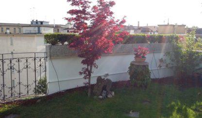 fioriera rettangolare 100x25 e 80x25 ghiaia di fiume, località: Milano