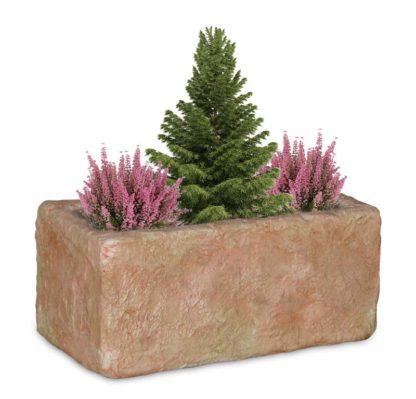fioriera Pusteria in finta pietra col. pietre del borgo, cod. 01FPUP