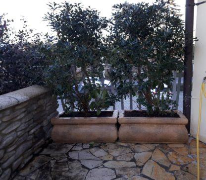 fioriera Volterra rettangolare 80 col. old stone, cod. 01FVRE80OS, località: Desenzano del Garda (Brescia)