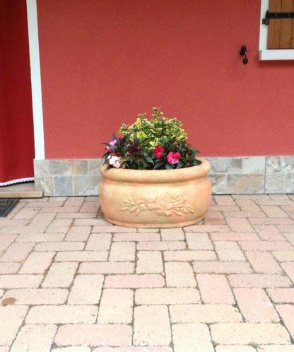 vaso azalea col. pietre del borgo, cod. 02VAP, località: Fratta Polesine (Rovigo)