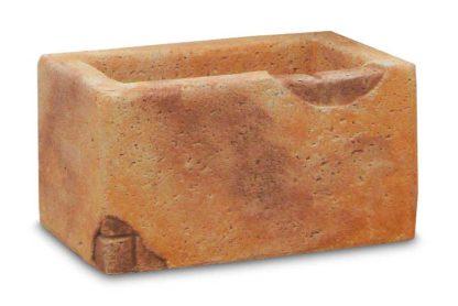 vaso fonte del casale col. mattone, cod. 02VFDCM