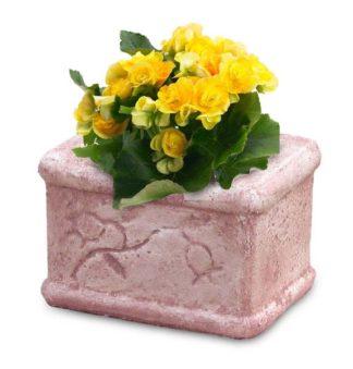 vaso mughetto col. rosa antico, cod. 02VMRA