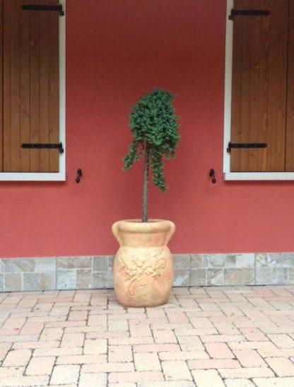 vaso oleandro col. pietre del borgo, cod. 01VOP, località: Fratta Polesine (Rovigo)