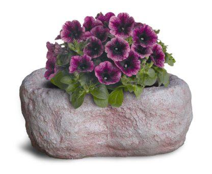 vaso primula 40 cm col. rosa antico, cod. 02VP40RA