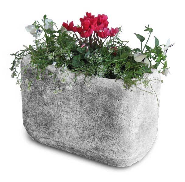 Vaso rettangolare 40 vasi e fioriere r c di rinaldi for Vaso rettangolare