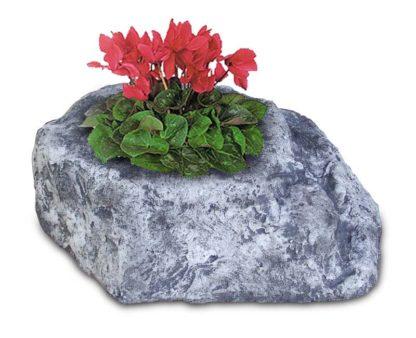 vaso roccioso 1 spazio col. antichizzato, cod. 02VR1AT
