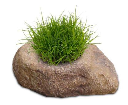 vaso roccioso 1 spazio col. old stone, cod. 02VR1OS