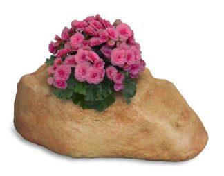 vaso roccioso 1 spazio col. pietre del borgo, cod. 02VR1P