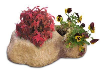 vaso roccioso 2 spazi col. old stone, cod. 02VR2OS