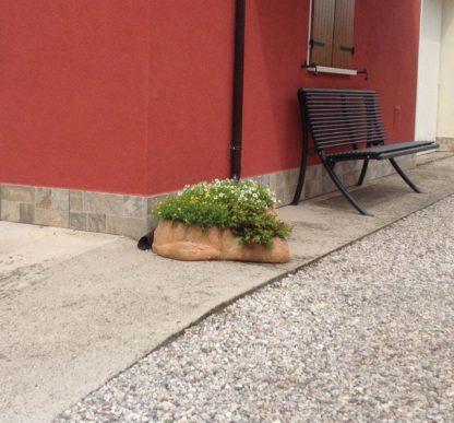 vaso roccioso 3 spazi col. pietre del borgo, cod. 02VR3P, località: Fratta Polesine (Rovigo)