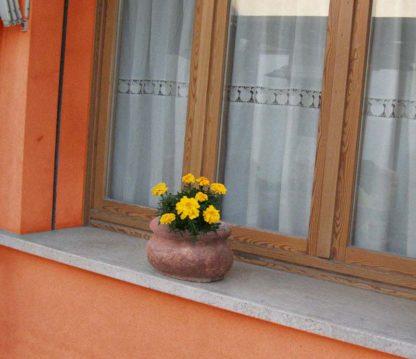 vaso romano col. mattone, cod. 02VRM, località: Lendinara (Rovigo)