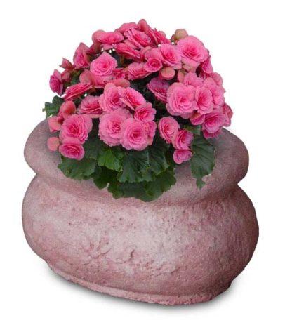 vaso romano col. rosa antico, cod. 02VRRA