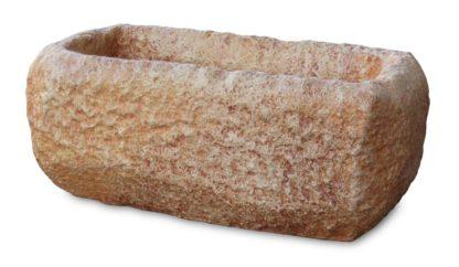 Vaso rettangolare col. mattone
