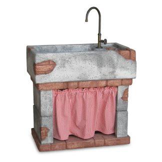 Fontane a muro e lavelli per esterno